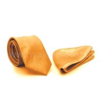 Zsorzsett szatén slim szett - Arany