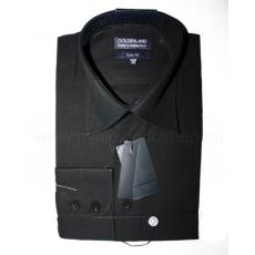Goldenland extra hosszúujjú ing - Fekete