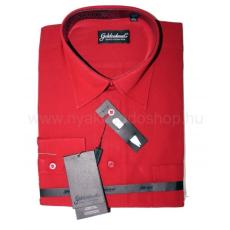 Goldenland extra hosszúujjú ing - Piros
