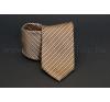 Rossini Prémium nyakkendõ - Drapp csíkos nyakkendő