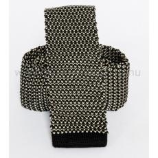 Prémium kötött nyakkendõ - Fekete-fehér