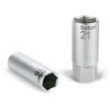 """gyertyakulcs dugófej 1/2"""", 61CrV5; 16mm, gumírozott"""