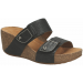 Clarks TEMIRA EAST fekete papucs