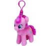 Ty. Plüss figura My little pony Lic Clip 11 cm - Pinkie Pie plüssfigura