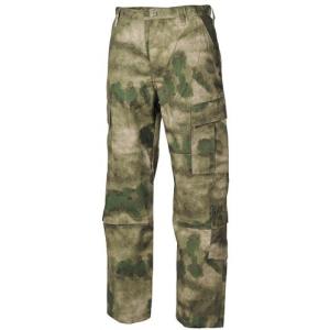 US gyakorló nadrág, ACU Rip Stop terepmintás zöld színben