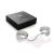 Bijoux Indiscrets Plaisir Nacre elegáns többfunkciós bilincs vagy fehér gyöngy karkötő párban, beakasztható lánccal