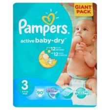 Pampers Active Baby Dry pelenka 3 méret, midi 90 db pelenka
