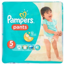 Pampers Pants bugyipelenka 5 méret, junior 22 db pelenka