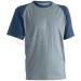 Coverguard NAVY sötétkék munkaruházat szürke díszítéssel, póló, környakas, 150 g/m² vastag...