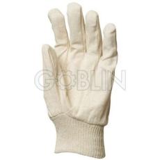 Euro Protection Fehér vászon gumírozott mandzsettával, 12 pár