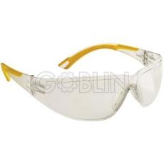 Lux Optical® Starlux védõszemüveg, rugalmas bikolor szárvégek, páramentes, ívelt polikarbonát,...