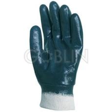 Euro Protection Nitril light Eco kézháton is mártott, kék vastag nitril kesztyû, passzés, 10 pár