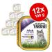 Yarrah tálcák gazdaságos csomag 12 x 100 g - Pástétom: Lazac & tengeri alga