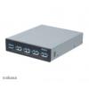 Akasa AK-ICR-19 InterConnect Pro 5S USB-Panel 3,5 - fekete