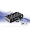 Akasa AK-HB-09BK Connect 7+ USB Hub külsõ