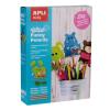 APLI Figurák ceruzára, filc, APLI, vadállatok