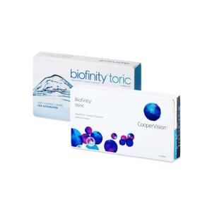 Coopervision Biofinity Toric - 3 darab