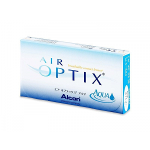 Alcon Air Optix Aqua - 6 darab