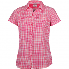 Columbia Silver Ridge Multi Plaid S/S Shirt Ing,blúz D (1443241-o_692-Bright Red)