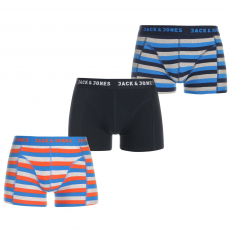 Jack and Jones Boxeralsó Jack and Jones Contrast 3 Pack fér.