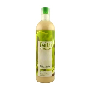 Faith in Nature hajkondicionáló szőke hajra, Ginkgo biloba, 250 ml