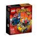LEGO SUPER HEROES: Mini szuperhős szett: Amerika Kapitány vs. Vörös Koponya 76065