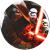 STAR Wars műanyag lapostányér