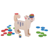Bigjigs cicás egyensúlyozós játék dobókockával