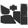 DEMCIFLEX porszûrõ készlet NZXT Phantom 530 - fekete