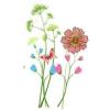 tavaszi virágok pillangó