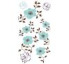 Türkíz virág matrica