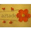 Narancssárga virágos lánc és citromsárga virágos lánc