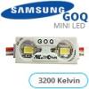 GOQ Samsung LED modul (5630x2/150°/IP68) - 3200K (5 ÉV)
