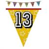 Hologramos zászlófüzér 13, 14, 15 éves 8 m-es  (14-es)