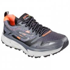 Skechers Go Trail Ultra 3 Férfi Sportcipő, Charcoal/Orange, 40 (54110-CCOR-40)