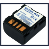 JVC GZ-MG57EX 7.4V 1200mAh utángyártott Lithium-Ion kamera/fényképezőgép akku/akkumulátor