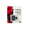 Kingston 64GB micro SD Class10 memória kártya adapterrel