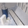 Mofém Linear zuhanyfolyóka szett KF minta nélküli ráccsal, MLP-850 KF