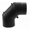 Állítható acél füstcső könyök, 150 / 90° Vegyestüzelésű kazánhoz