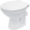 Cersanit President P10 WC, mélyöblítésű, hátsó kifolyású, fehér (K08-014)