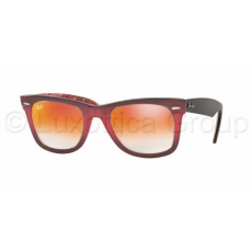 Ray-Ban WAYFARER RB2140 12004W TOP GRAD PINK ON BROWN MIRROR GRADIENT RED napszemüveg