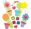Baker Ross Ujjpárna virágkészítő kreatív és készségfejlesztő