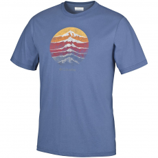 Columbia Csc Mountain Shield Tee T-shirt,póló D (1659561-o_452-Night Tide)