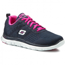 Skechers Félcipő SKECHERS - Obvious Choice 12058/NVPK Navy/Pink