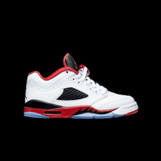 Nike Air Jordan 5 Retro Low Fire Red GS