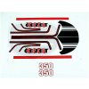 Jawa 350 6V MATRICA KLT. CEZET