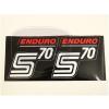 SIMSON 70 MATRICA DEKLIRE /PIROS/ PÁR ENDURO