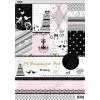 Mintás kartonpapír csomag, A4, esküvői (HPRPA392)