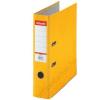 ESSELTE Iratrendező, 75 mm, A4, karton, ESSELTE Rainbow, sárga (E17928)