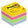 3M POSTIT Öntapadó jegyzettömb, 51x51 mm, 400 lap, bliszteres, 3M POSTIT, ultra színek (LP2012MUC)